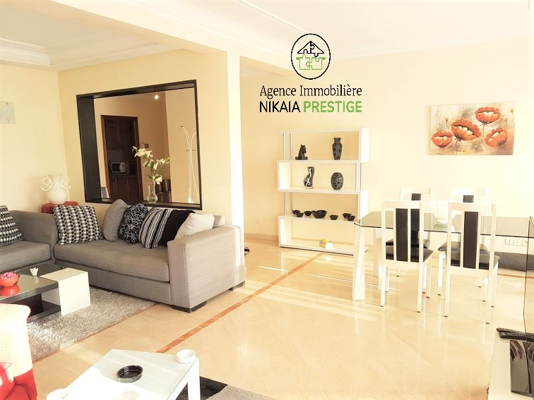 Location appartement meublé de 110 m², 2 chambres, parking, quartier PRINCESSES, Casablanca 1 (2)