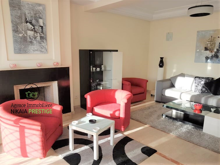 Location appartement meublé de 110 m², 2 chambres, parking, quartier PRINCESSES, Casablanca 1 (4)