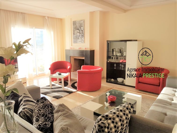Location appartement meublé de 110 m², 2 chambres, parking, quartier PRINCESSES, Casablanca 1 (5)