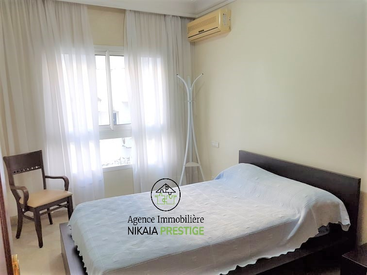 Location appartement meublé de 110 m², 2 chambres, parking, quartier PRINCESSES, Casablanca 1 (9)